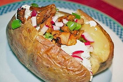 Ofenkartoffeln mit Pfifferlingen 7