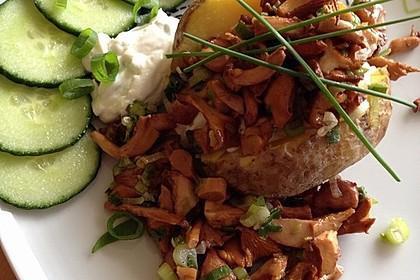 Ofenkartoffeln mit Pfifferlingen 10