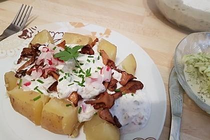 Ofenkartoffeln mit Pfifferlingen 19