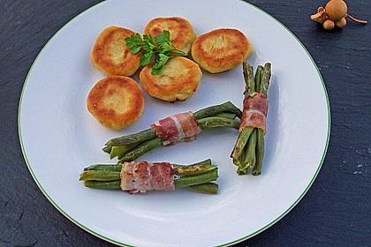 Überbackene grüne Bohnen mit Bacon 1