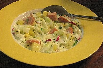 Kalte Sommergemüse - Suppe 1