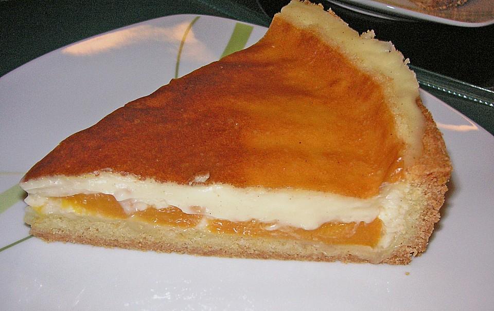Pfirsich Pudding Kuchen Von Bloody Squirrel Chefkoch De