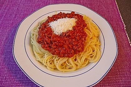 Italienische Hack - Pasta - Sauce 1