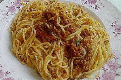 Italienische Hack - Pasta - Sauce 2