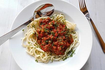 Italienische Hack - Pasta - Sauce