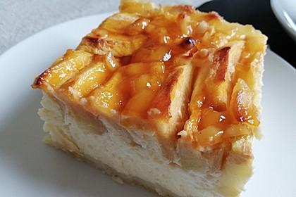 Apfel - Käsekuchen vom Blech 12