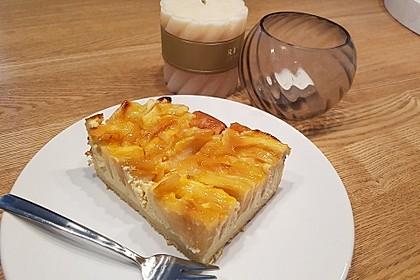 Apfel - Käsekuchen vom Blech 23