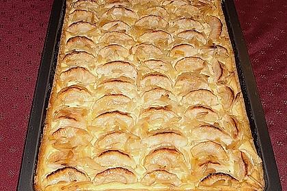 Apfel - Käsekuchen vom Blech 5