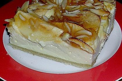 Apfel - Käsekuchen vom Blech 1