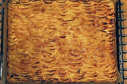 Apfel - Käsekuchen vom Blech 18