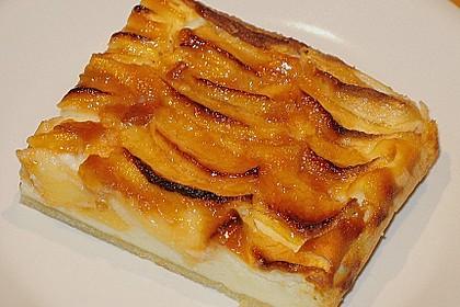 Apfel - Käsekuchen vom Blech 6