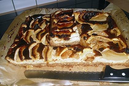 Apfel - Käsekuchen vom Blech 28
