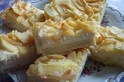 Apfel - Käsekuchen vom Blech 3