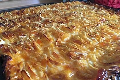 Apfel - Käsekuchen vom Blech 22