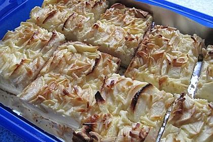 Apfel - Käsekuchen vom Blech 11