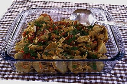 Artischockenherzen - Salat mit Kräutern 1