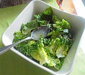 Zitronen - Olivenöl - Sauce zu Kopfsalat (Bild)