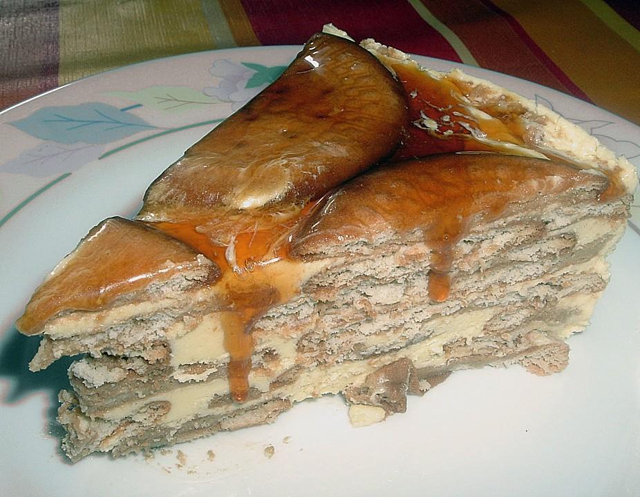Portugiesischer Kekskuchen Ohne Backen Von Bienemaya Chefkoch De