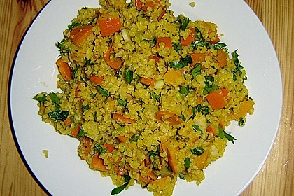 Bulgur-Kürbis-Salat