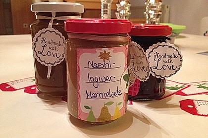 Nashi - Ingwer - Marmelade