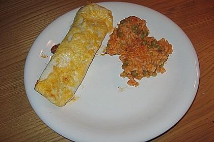 Mexikanischer Reis mit Chilis und Erbsen 8