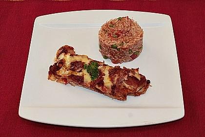 Mexikanischer Reis mit Chilis und Erbsen 6