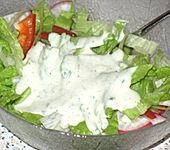 Joghurtdressing (Bild)