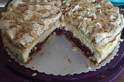 Hansen - Jensen - Torte mit Sauerkirschen 17