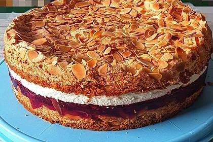 Hansen - Jensen - Torte mit Sauerkirschen 2