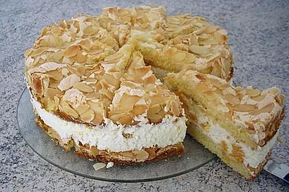 Hansen - Jensen - Torte mit Sauerkirschen (Bild)