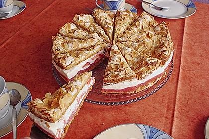 Hansen - Jensen - Torte mit Sauerkirschen 1