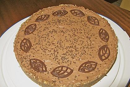 Torta della crema di cioccolato 16