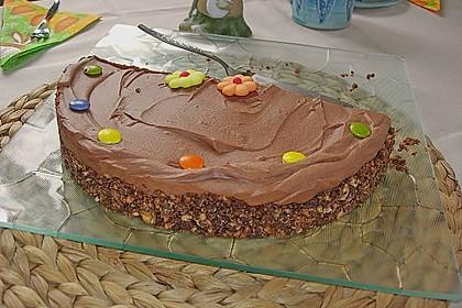 Torta della crema di cioccolato 22