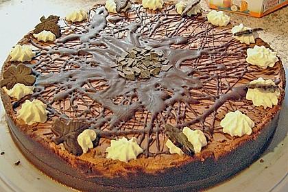 Torta della crema di cioccolato 23
