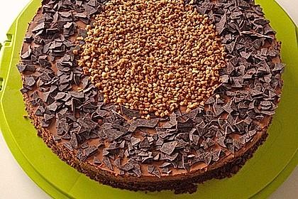 Torta della crema di cioccolato 1