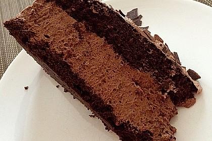 Torta della crema di cioccolato 9