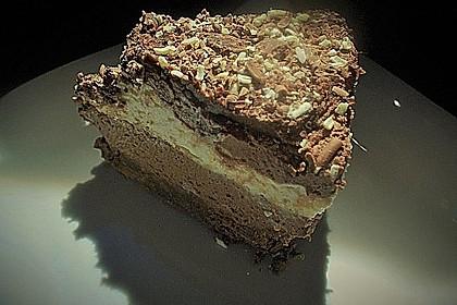 Torta della crema di cioccolato 17