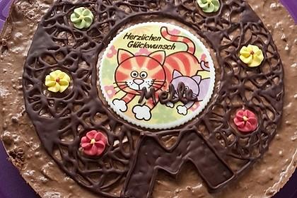Torta della crema di cioccolato 4