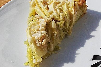 Apfelkuchen mit Zucchini 7
