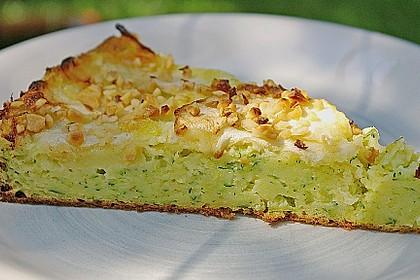 Apfelkuchen mit Zucchini 1