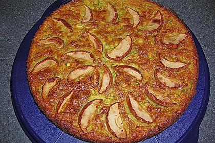 Apfelkuchen mit Zucchini 8