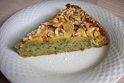 Apfelkuchen mit Zucchini 3
