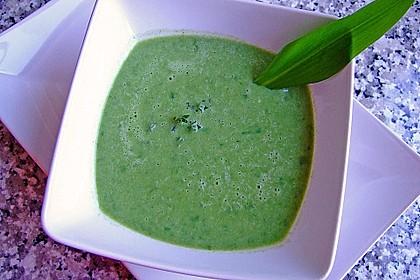 Spinat - Bärlauch - Suppe 1