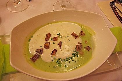 Spinat - Bärlauch - Suppe 2
