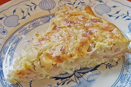 Speck - Zwiebel - Kuchen mit Blätterteig 4