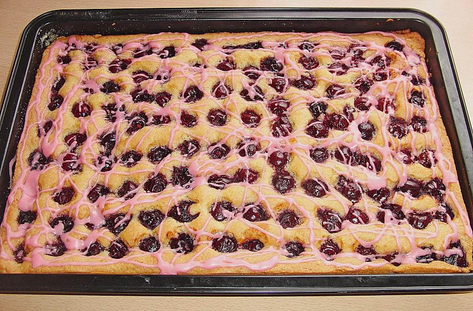 Calisto S Kirsch Mandel Kuchen Von Calisto1 Chefkoch De
