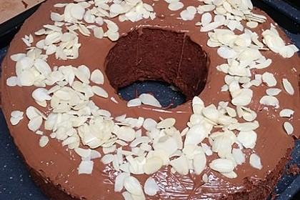 Schokoladen - Sahne - Rührkuchen (Bild)
