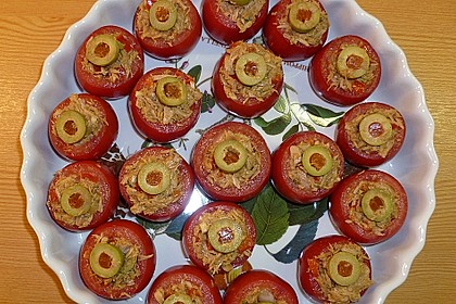 Andalusisch gefüllte Tomaten 2