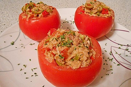 Andalusisch gefüllte Tomaten