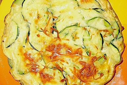 Linsen - Zucchini - Tarte 27